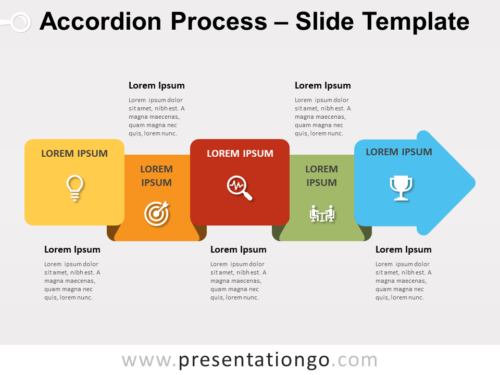 Free Accordion Process for PowerPoint