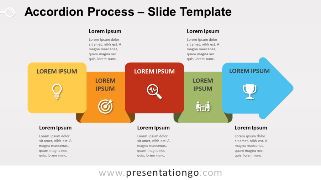 Free Accordion Process for PowerPoint and Google Slides