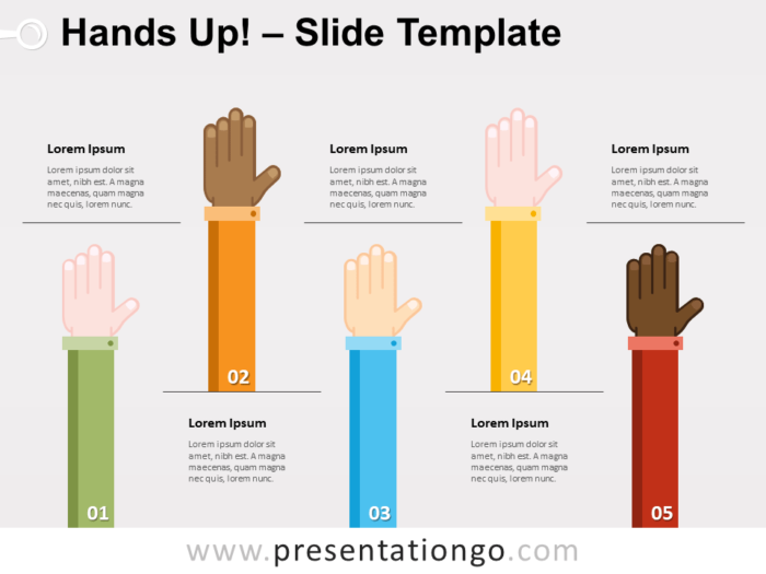 Free Hands Up for PowerPoint