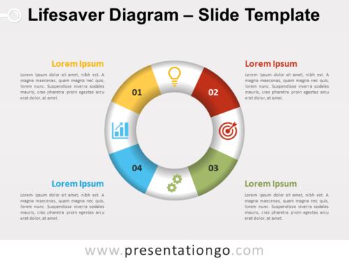 Free Lifesaver Diagram for PowerPoint