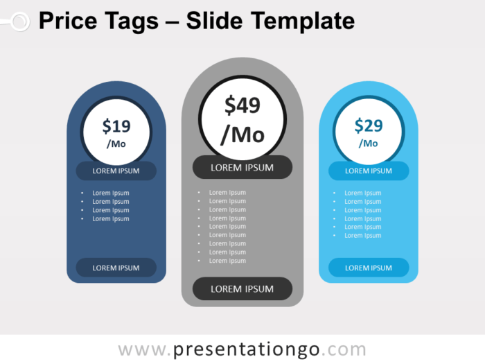Free Price Tags for PowerPoint