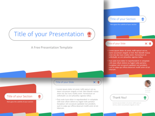 Free CHROME Template for PowerPoint and Google Slides