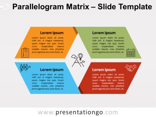 Free Parallelogram Matrix for PowerPoint