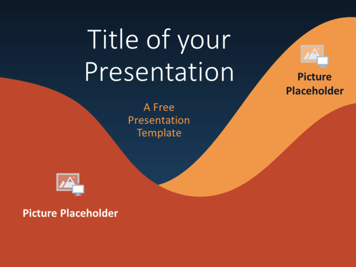 Free FLUID Template for Google Slides - Cover Slide