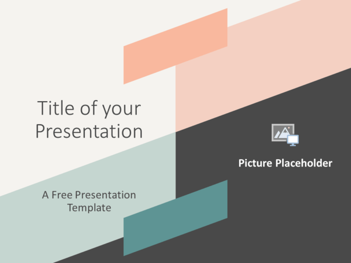Free ROMANTIC SUMMER Template for Google Slides - Cover Slide