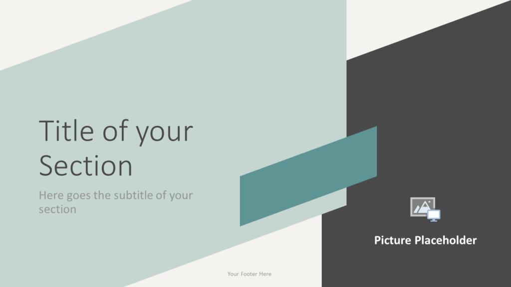 Free ROMANTIC SUMMER Template for Google Slides – Section Slide (Variant 1)