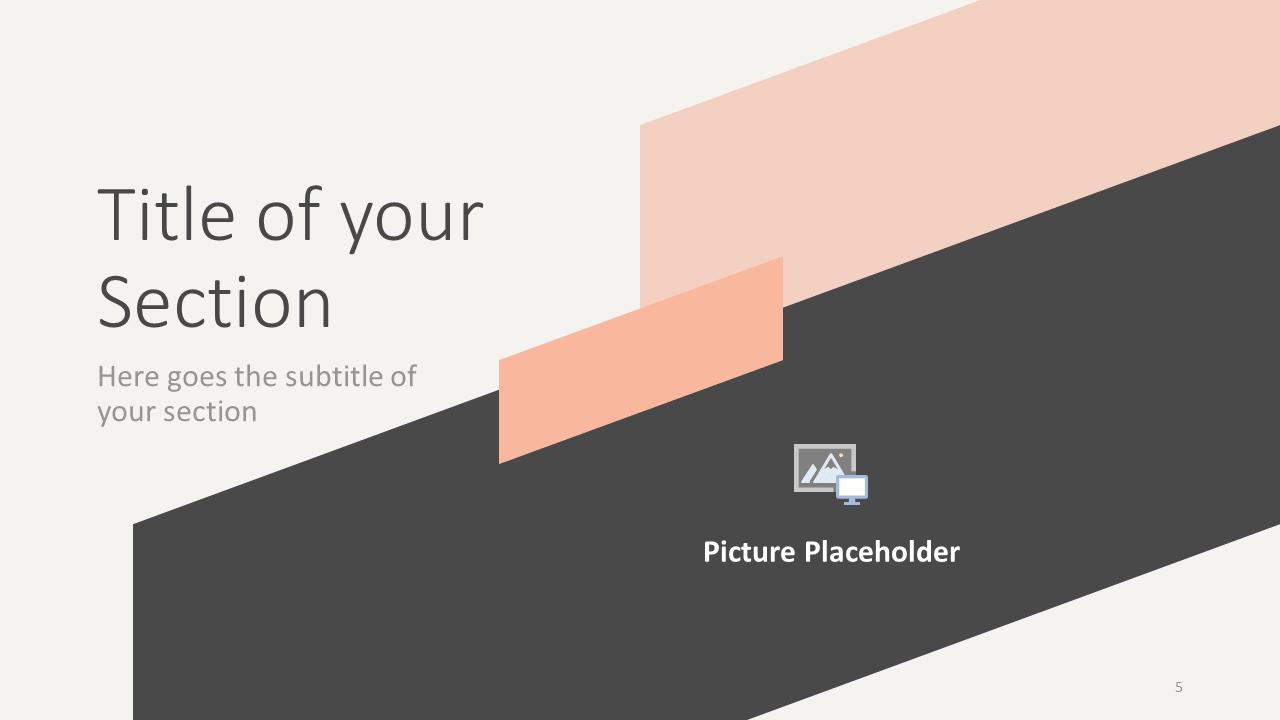 Free ROMANTIC SUMMER Template for Google Slides – Section Slide (Variant 2)