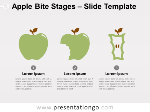 Free Apple Bite Stages for PowerPoint