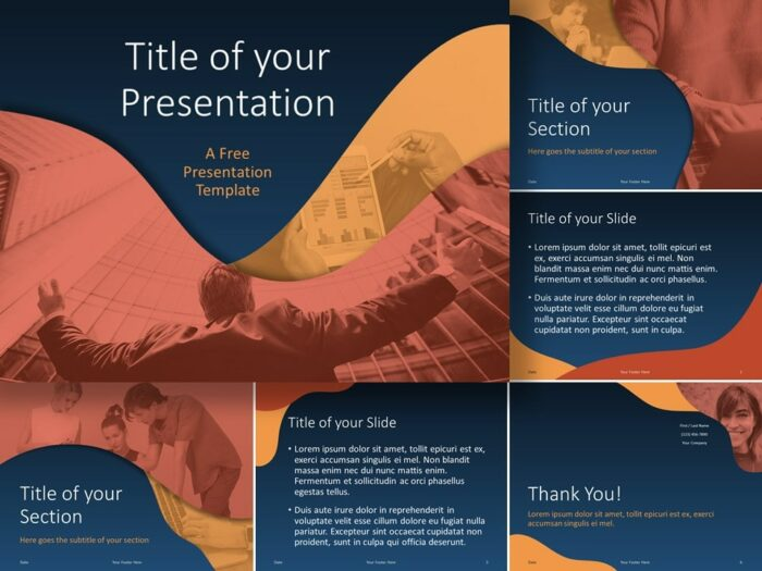 FLUID Template for PowerPoint and Google Slides