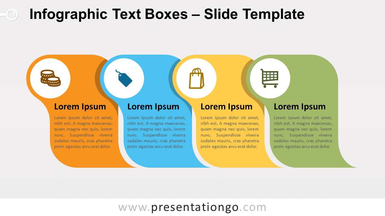 Free Infographic Text Boxes for PowerPoint and Google Slides