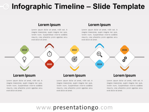 Free Infographic Timeline for PowerPoint