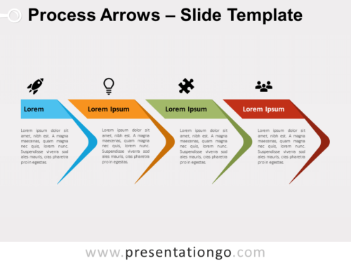 Free Process Arrows for PowerPoint