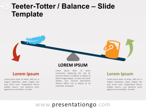 Free Teeter-Totter Balance for PowerPoint