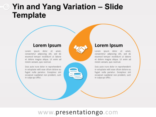 Free Yin and Yang Variation for PowerPoint