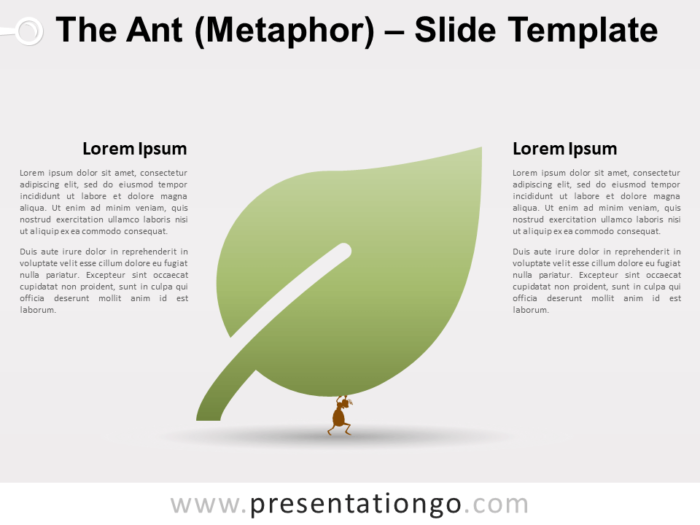 Free The Ant (Metaphor) for PowerPoint