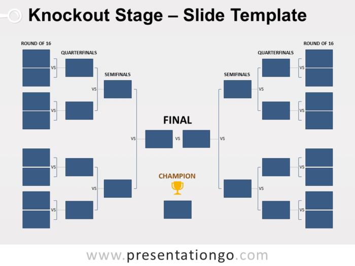 Free Knockout Stage for PowerPoint
