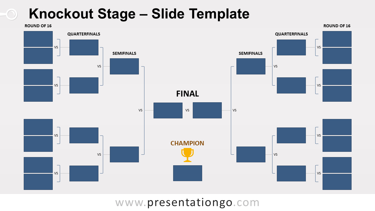 Free Knockout Stage for PowerPoint and Google Slides