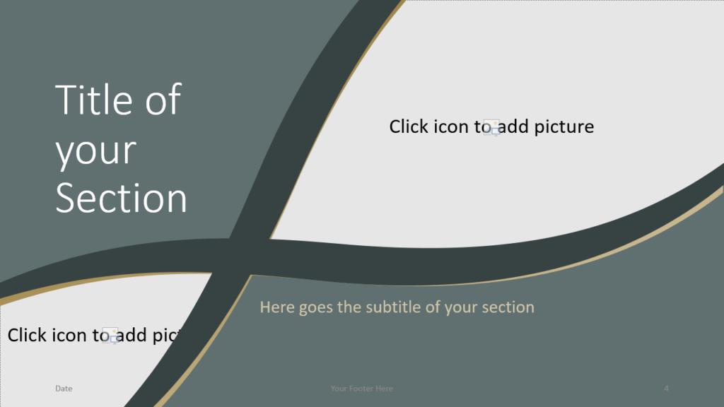 Free Eleganza Template for Google Slides – Section Slide (Variant 1)