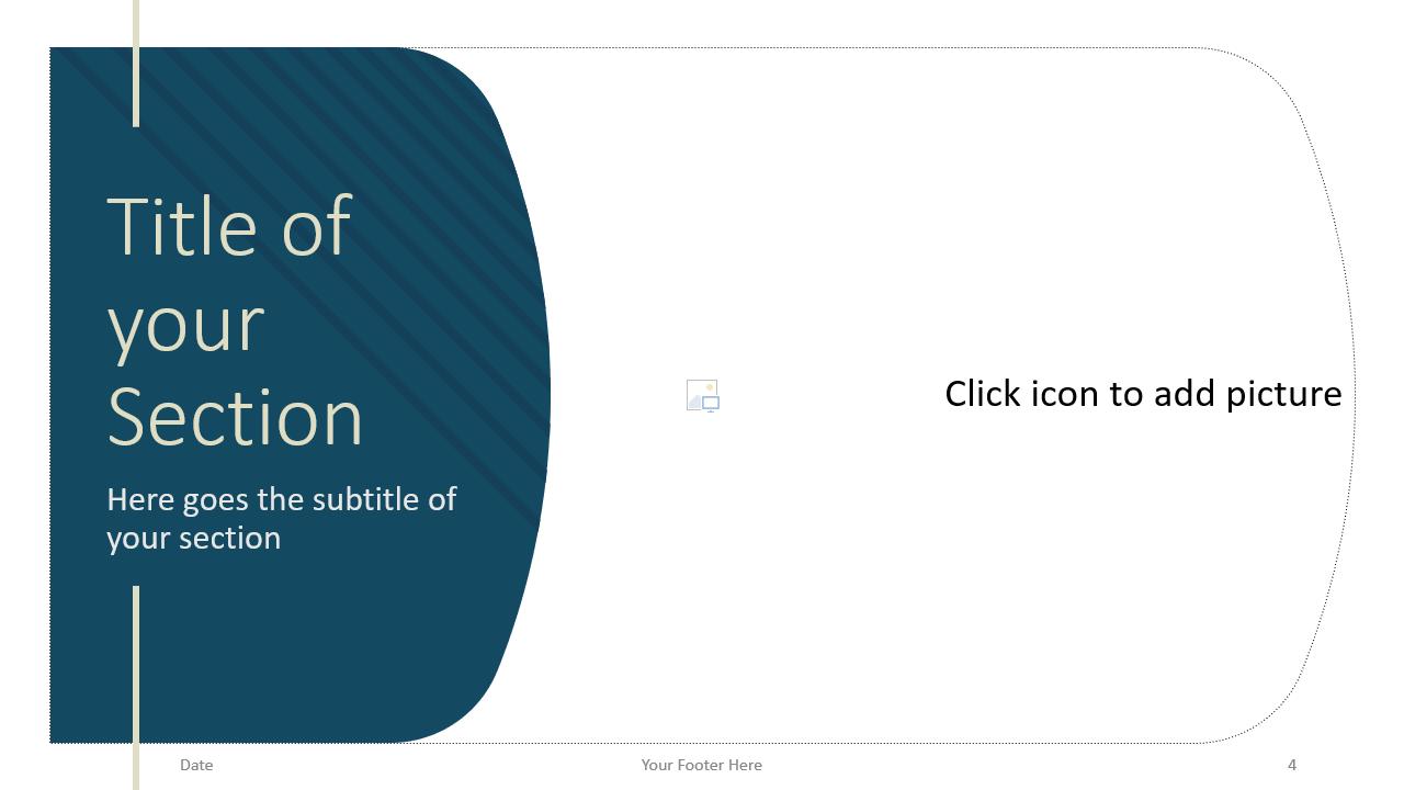 Free Imperial Template for Google Slides – Section Slide (Variant 1)