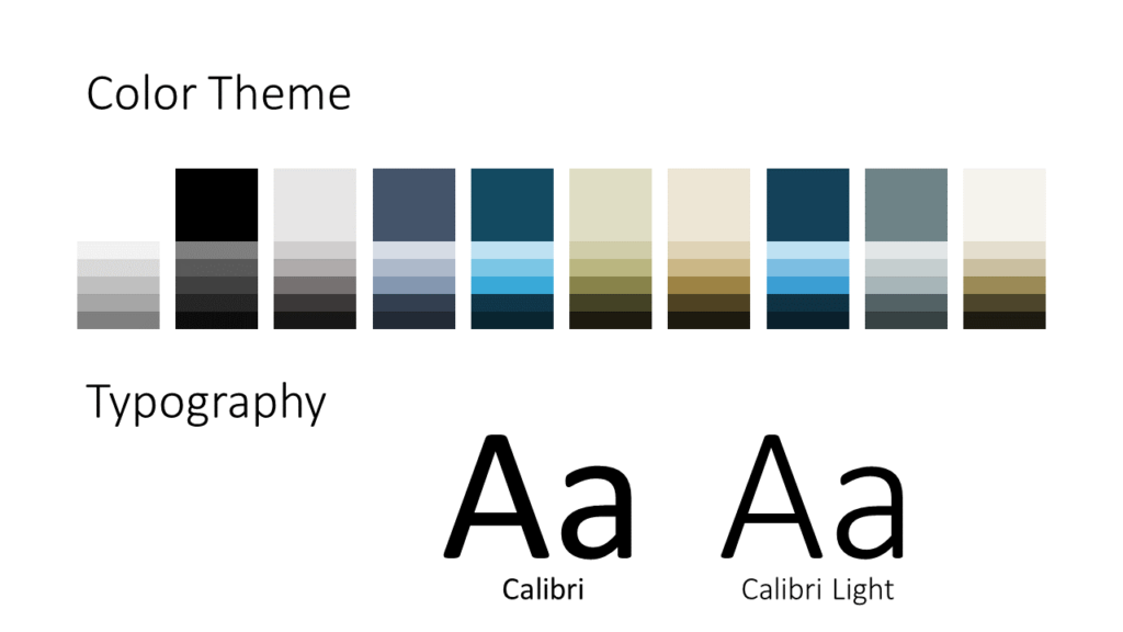 Free Imperial Template for Google Slides – Colors and Fonts