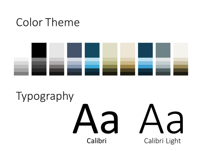 Free Imperial Template for PowerPoint – Colors and Fonts