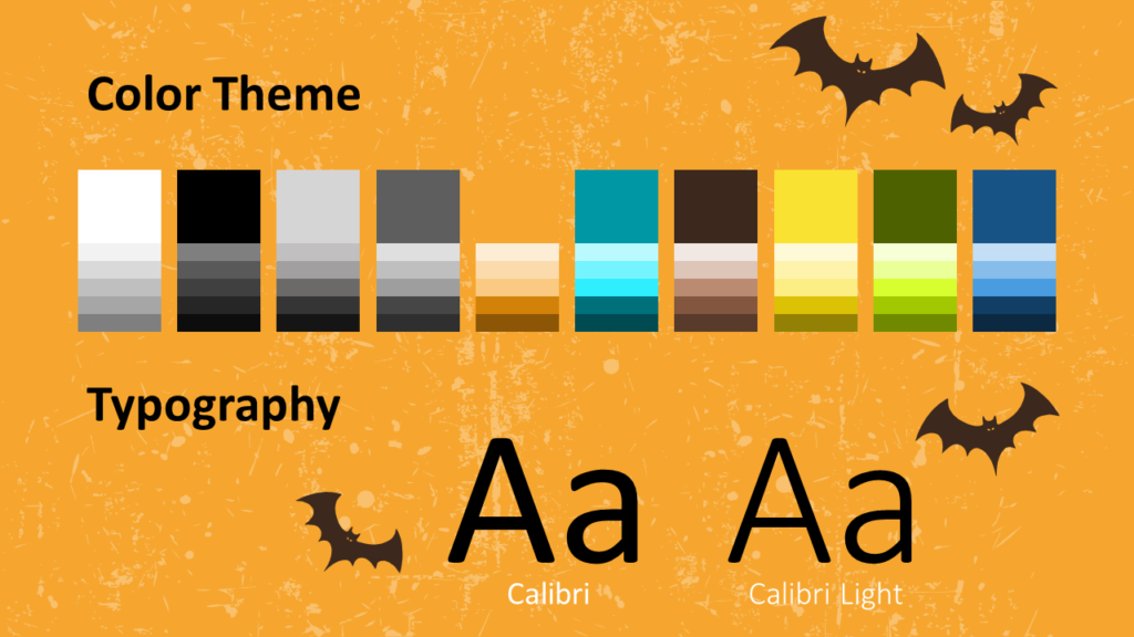 Free SPOOKY Template for Google Slides – Colors and Fonts