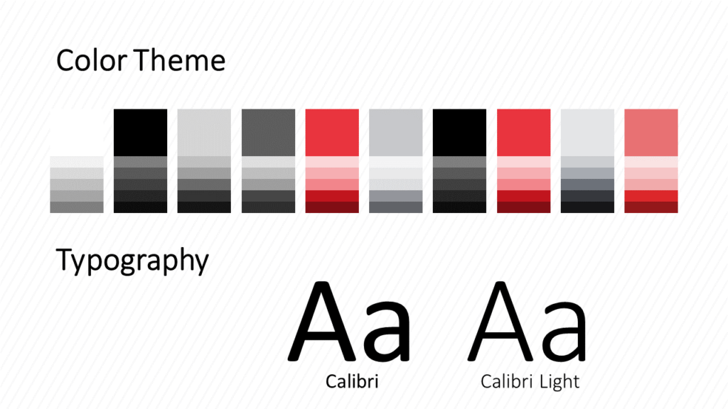 Free Stripes Template for Google Slides – Colors and Fonts