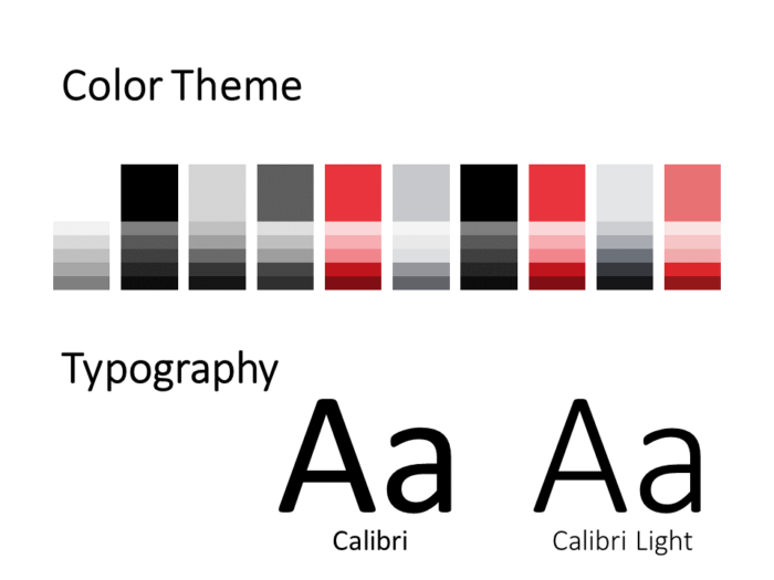Free Stripes Template for PowerPoint – Colors and Fonts