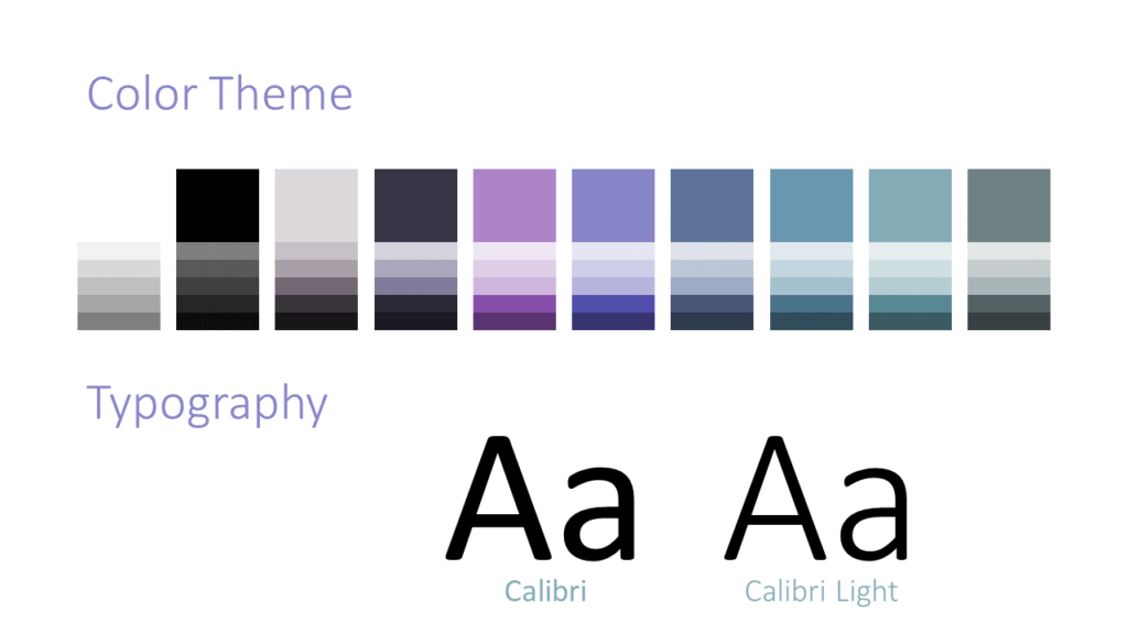 Free Strokes Template for Google Slides – Colors and Fonts
