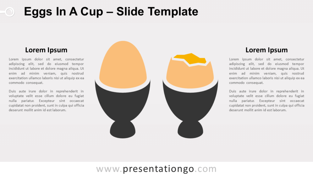 Free Eggs In A Cup for PowerPoint and Google Slides