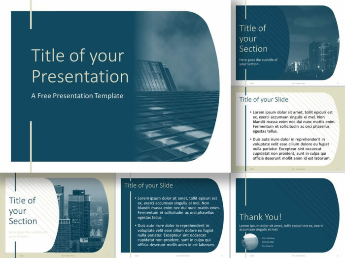Free Imperial Template for PowerPoint and Google Slides