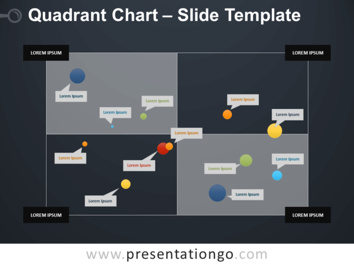 Free Quadrant Chart Infographic for PowerPoint