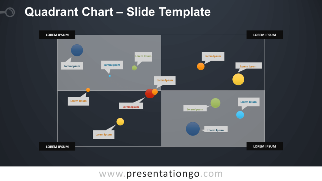Free Quadrant Chart Infographic for PowerPoint and Google Slides