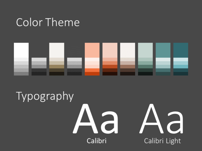 Free Abstract Rounded Corners Template for PowerPoint – Colors and Fonts