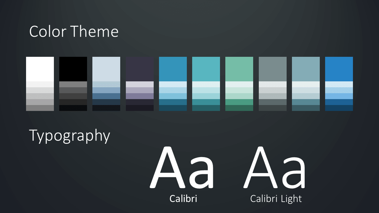Free Wavy Template for Google Slides – Colors and Fonts