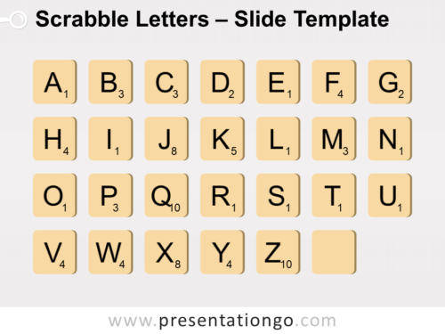 Free Scrabble Letters for PowerPoint