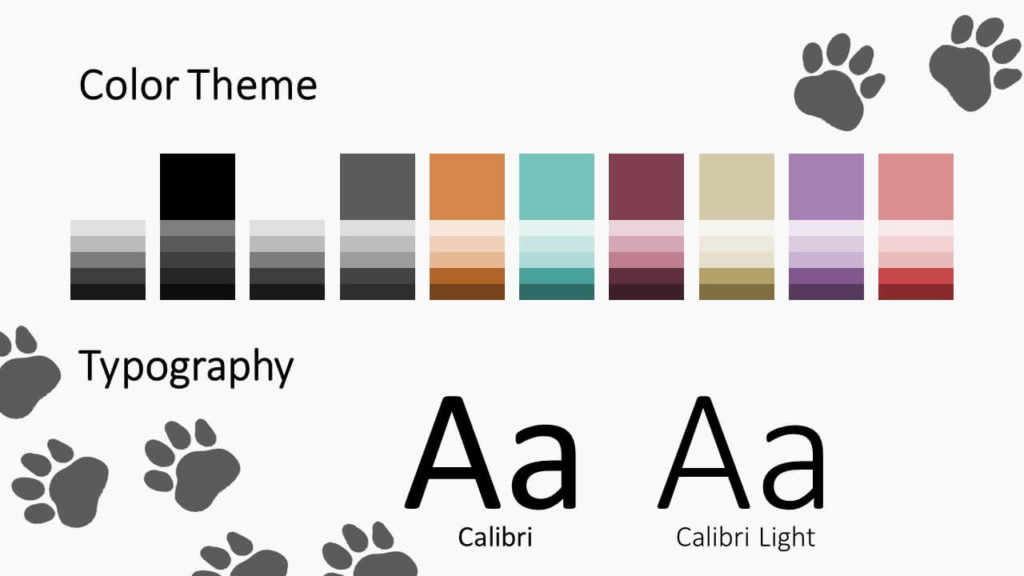 Free Pets Template for Google Slides – Colors and Fonts