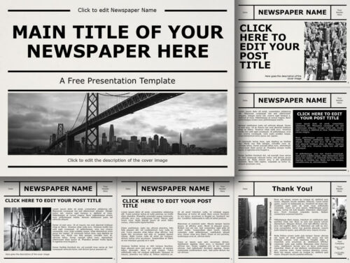 Free NEWSPAPER Template for PowerPoint and Google Slides
