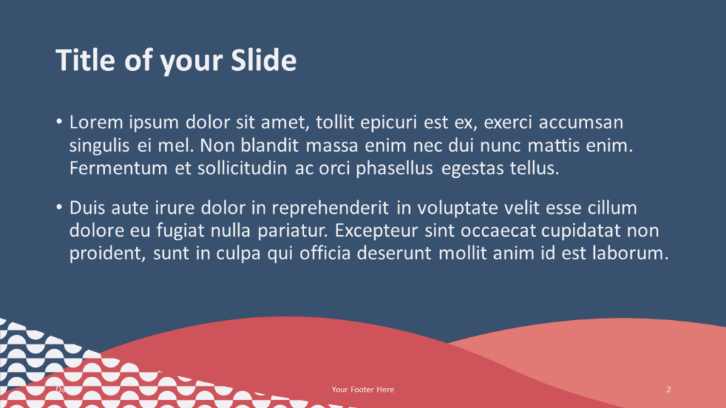 Free Tuscany Template for Google Slides – Title and Content Slide (Variant 1)