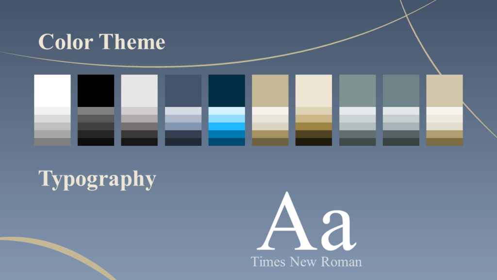 Free Crescents Template for Google Slides – Colors and Fonts