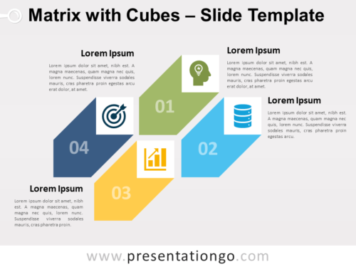 Free Matrix Cubes for PowerPoint