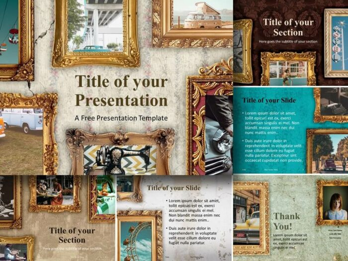 Free Renaissance Frames Template for PowerPoint and Google Slides
