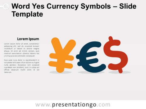 Free Word Yes Currency Symbols for PowerPoint