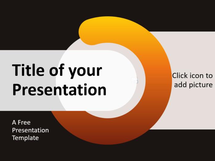 Free Chrono Template for Google Slides - Cover Slide