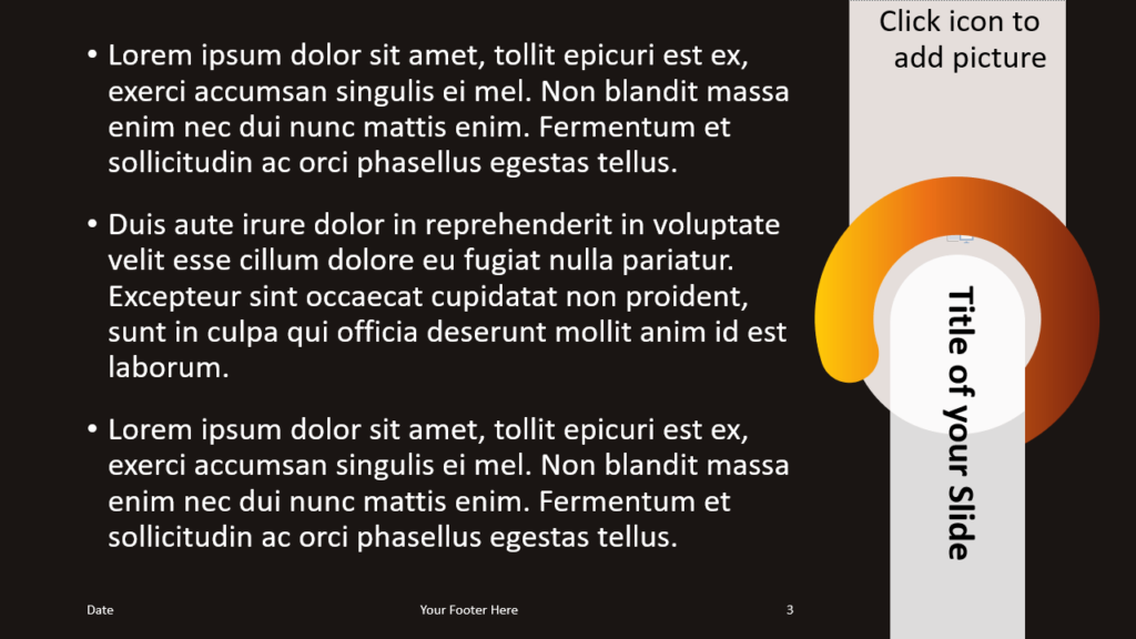 Free Chrono Template for Google Slides – Title and Content Slide (Variant 2)