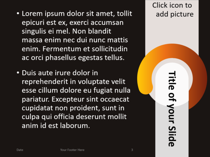Free Chrono Template for PowerPoint – Title and Content (Variant 2)