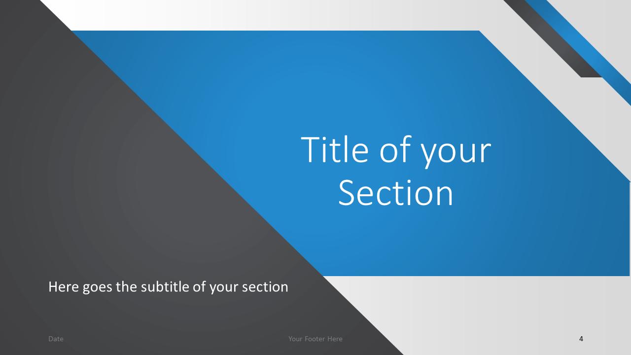 Free Energy Template for Google Slides – Section Slide (Variant 1)