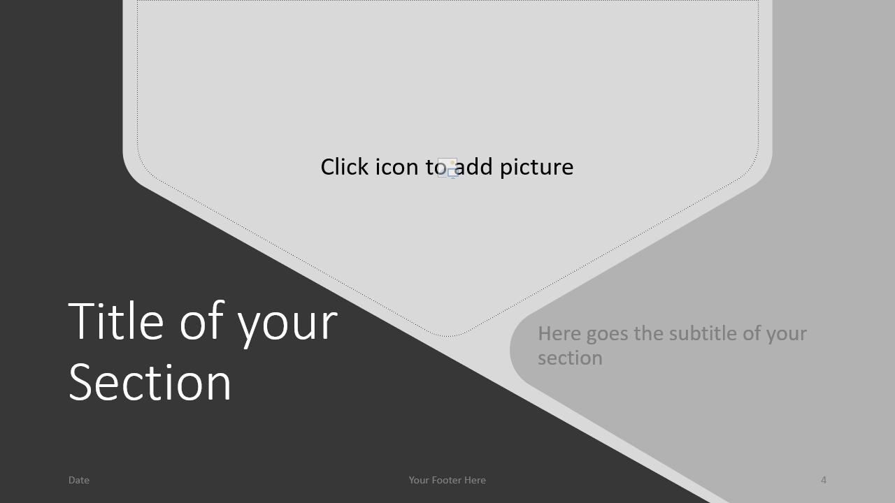 Free Hexagon Template for Google Slides – Section Slide (Variant 1)