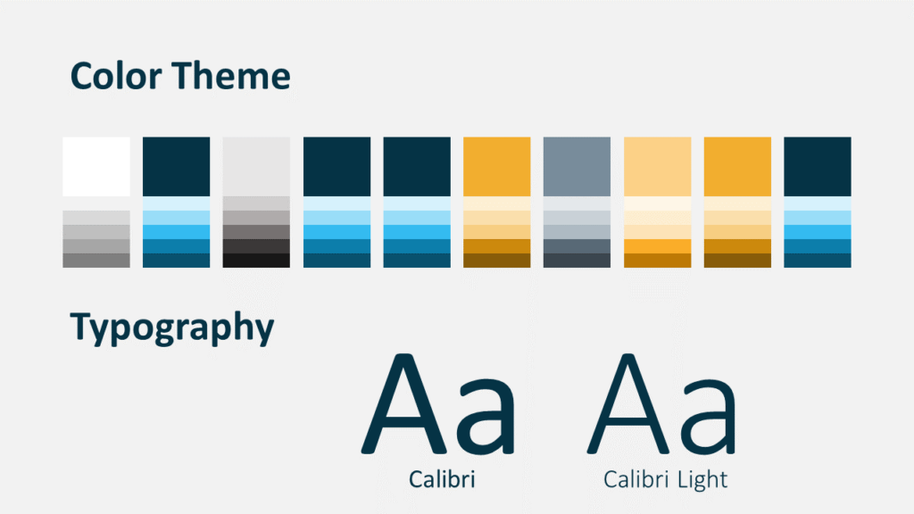 Free Scribble Lines Template for Google Slides – Colors and Fonts