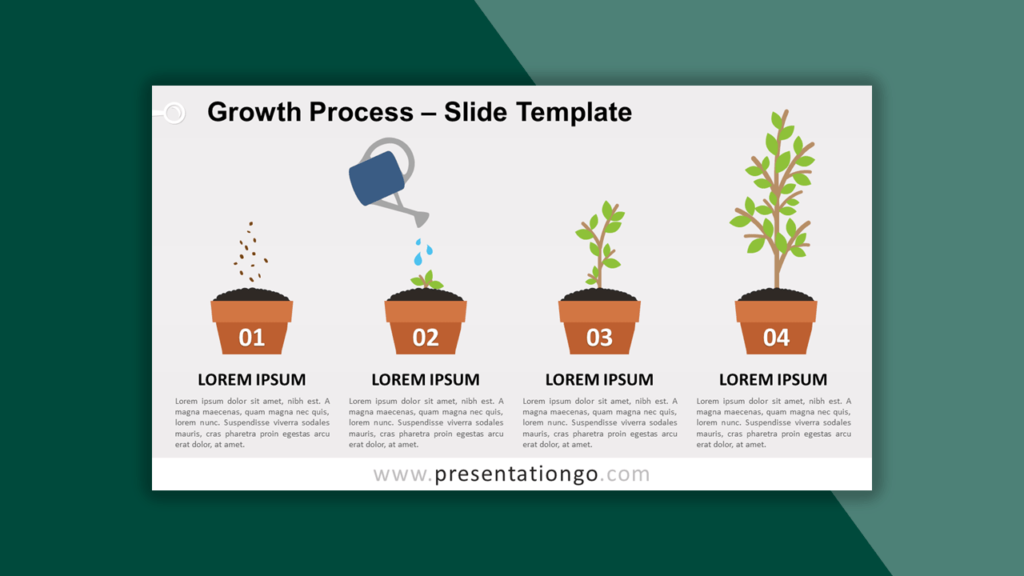 Growth Process Template for PowerPoint